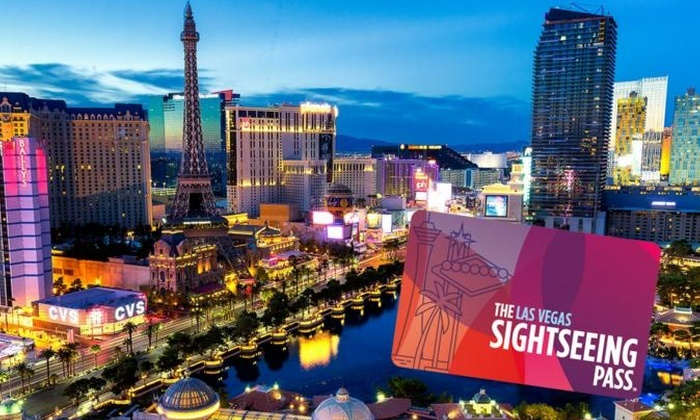 Las Vegas Flex Premium Passes The Sightseeing Pass Las Vegas Groupon