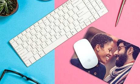 Stampa personalizzabile su mouse pad con Photobook Shop (sconto 76%)