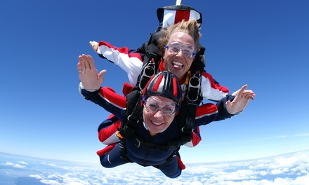 Skydiving Deals: 50 to 90% off deals in Skydiving. Get daily deals and local insights. One Tandem Skydiving Jump or $ Value Towards Skydiving at DC Skydiving Center (Up to 51% Off). Minute VR and 1 Race for 1 or 2, or One Hour of VR for 1 or 2 at Thunderbolt Indoor Karting (Up to 64% Off).