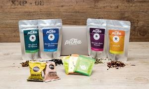 piTea: Winterliche Teesorten, opt. mit Zubehör, (bis zu 50% sparen*) oder Wertgutschein für das gesamte Angebot bei piTea
