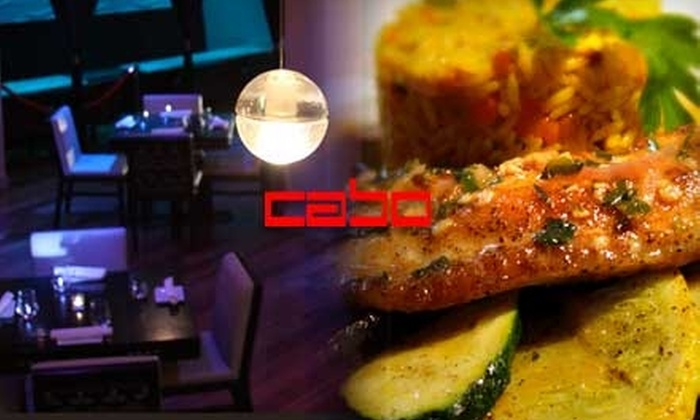 Sienna Restaurant at Cabo Lounge - White Plains: $25 for $50 Worth of Italian-American Cuisine at Sienna Restaurant at Cabo Lounge