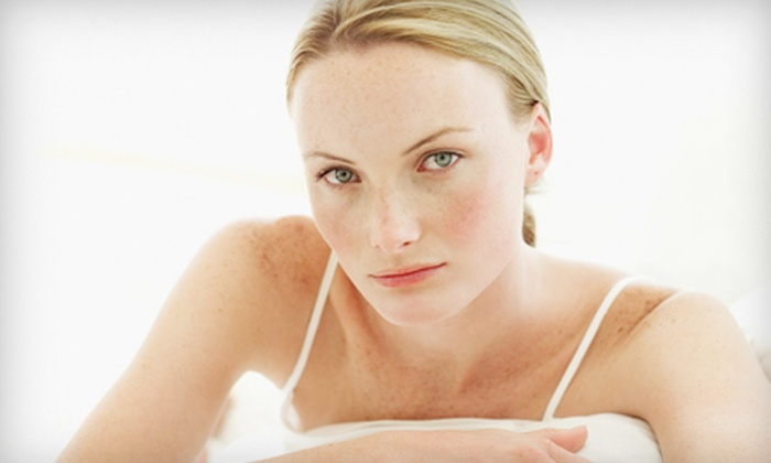 North East Laser Vein Institute - Multiple Locations: One or Two Organic Skin Peels and Eye or Décolletage Treatments at North East Laser Vein Institute