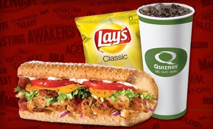 $10 Groupon to Quiznos  - Quiznos in Columbia