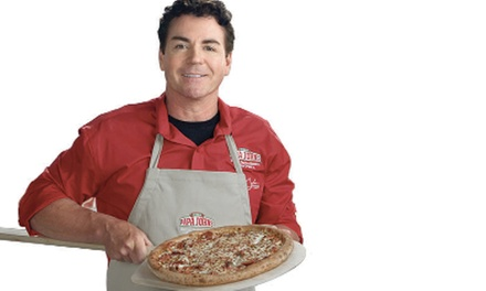 Two Pizzas from Papa Johns Pizza, Dine in, Take out or Delivery (Up to 39% Off)
