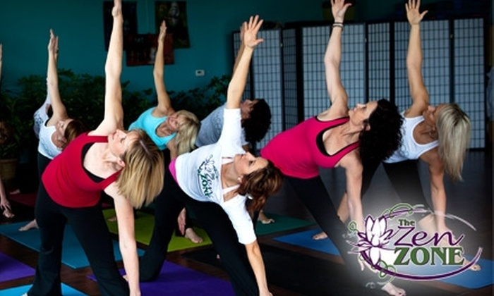 Zen Zone - Lee's Summit: $15 for Five Yoga Classes at Zen Zone