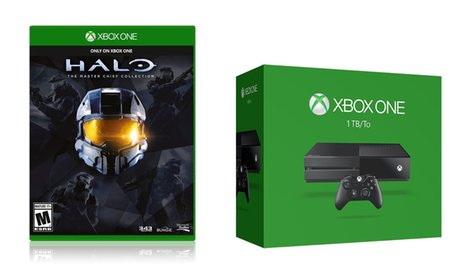 Xbox One 1TB Console Bundle with Halo: The Master Chief Collection