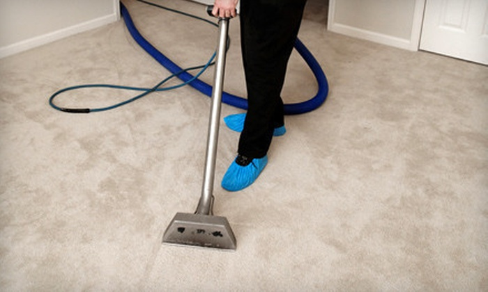 A Team Carpet Cleaning - Little Rock: Three or Four Rooms of Carpet Cleaning from A Team Carpet Cleaning (Up to 65% Off)