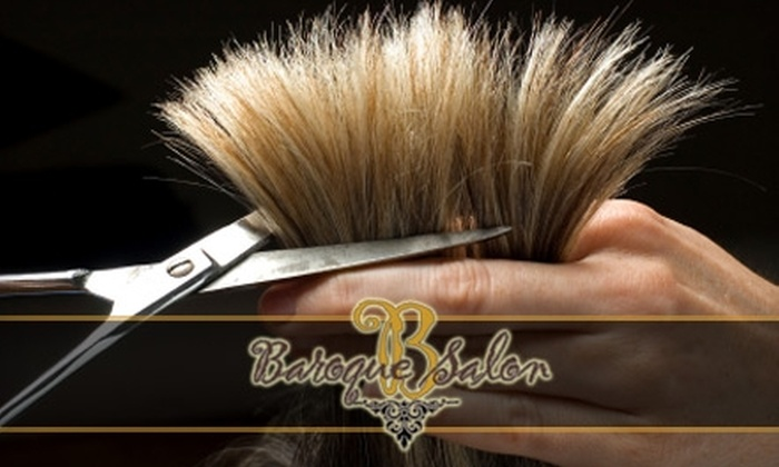 Baroque Salon - North End: $25 for a Haircut and Style from Tiffany Becker at Baroque Salon ($50 Value)