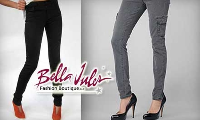 Bella Jules - West Reading: $49 for $100 Worth of Designer Denim Jeans at Bella Jules