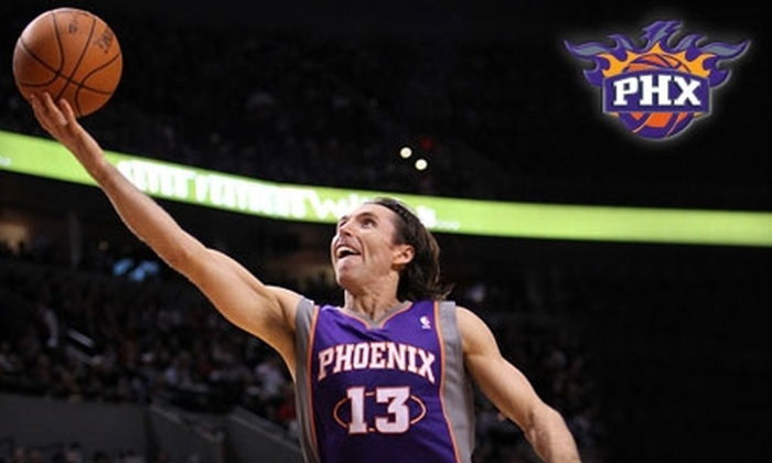 Phoenix Suns - Downtown Phoenix: Ticket to Suns vs. Warriors on February 10. Choose Between Two Seating Options.