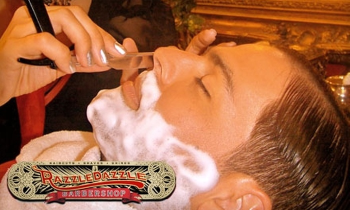 RazzleDazzle Barbershop - Multiple Locations: Haircut and Shaving Services at RazzleDazzle Barbershop. Choose Between Two Options.