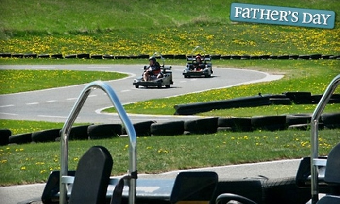 Karters Korner - Munster Hamlet - Richmond: $29 for Six Laps on a Go-Kart and Round of Mini Golf for Two at Karters Korner (Up to $58 Value)