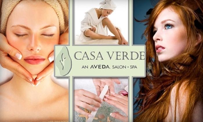 Casa Verde Spa - Hodgin: $50 for $125 Worth of Salon & Spa Services at Casa Verde Spa
