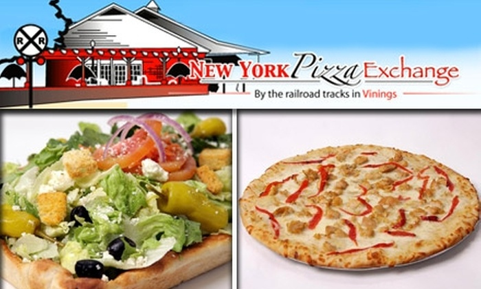 New York Pizza Exchange - Vinings: $10 for $25 Worth of Pizza, Pasta, and More at New York Pizza Exchange