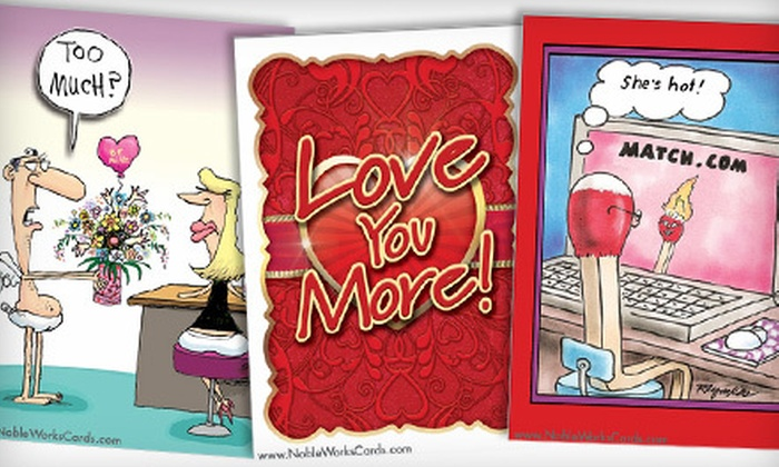 NobleWorks: Humorous Greeting Cards from NobleWorks (Up to 71% Off). Two Options Available.