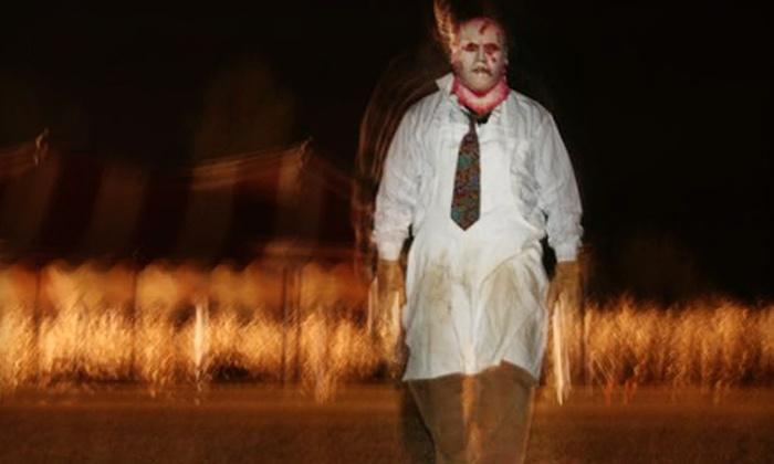 Harvested Farm Nightmares - Garner: $17 for Admission for Two to Harvest Farm Nightmares on October 21 or 22 ($34 Value)
