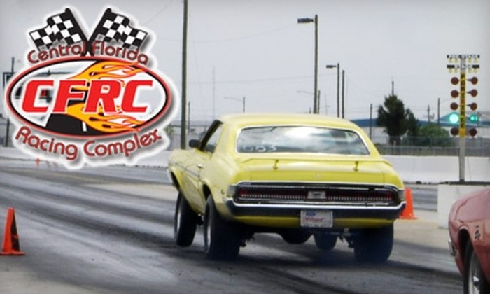 Central Florida Racing Complex - Orlando: $10 for Two General-Admission Tickets to Friday-Night Drag Racing at the Central Florida Racing Complex ($20 Value)