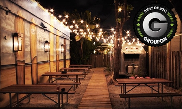 Longboards Restaurant and Bar - West Palm Beach: $20 for $40 Worth of Fresh Seafood, American Fare, and Drinks at Longboards Restaurant and Bar in West Palm Beach