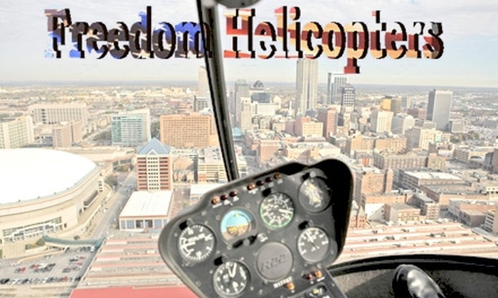 Freedom Helicopters - Delaware Crossing: $159 for a Helicopter Tour of Indianapolis for Up to Three People with Freedom Helicopters