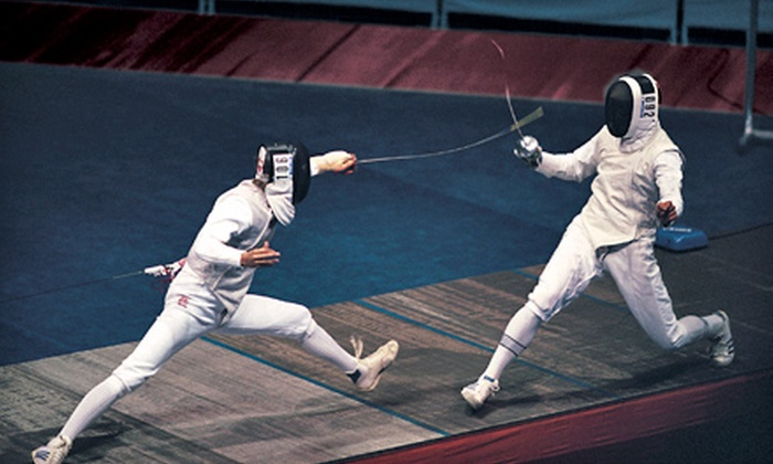 Hub City Fencing Academy - Edison: Group Fencing Class, or Pick-Your-Weapon Course with Optional Group Classes at Hub City Fencing Academy (Up to 71% Off)