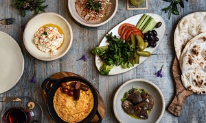 Verdura: Lebanese or Oriental Breakfast for One or Two at Verdura (Up to 55% Off)
