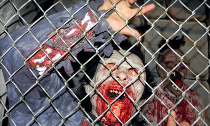 Devil's Haven - Wheaton: Haunted-House Outing for Two Including Two Tickets at Devil's Haven in Wheaton. Three Ticket Options Available.