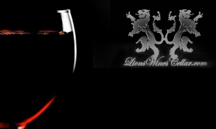 Lions Wines Cellar - San Diego: $29 for $80 Worth of Rare, Eclectic Wines from Lions Wines Cellar