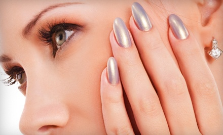 Shellac Manicure (a $30 value) - His & Hers Hair Studio in Leavenworth