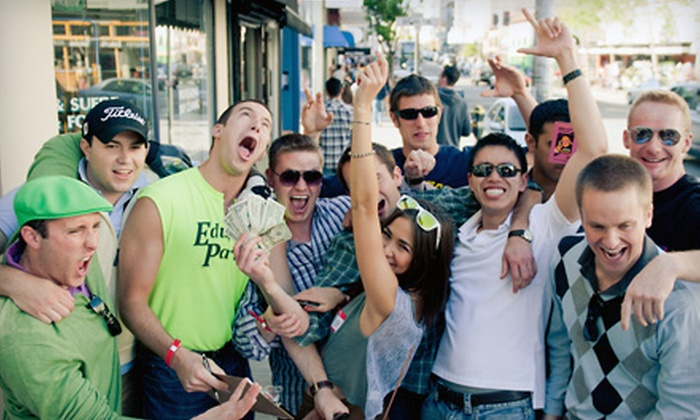CrawlSF - Cow Hollow: $35 for VIP Admission to Five Pub Crawls and a T-shirt from CrawlSF ($80 Value)