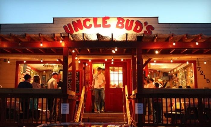 Uncle Bud's Catfish Shack - Nashville-Davidson metropolitan government (balance): $10 for $20 Worth of Southern Fare and Drinks at Uncle Bud's Catfish Shack