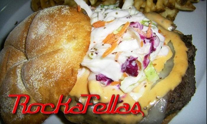 Rockafellas Restaurant and Sports Bar - Gaithersburg: $12 for $25 Worth of Pub Fare at Rockafellas in Gaithersburg