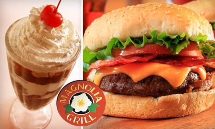 Magnolia Grill - French Quarter: $10 for $20 Worth of Tasty Comfort Food and Authentic New Orleans Fare at Magnolia Grill