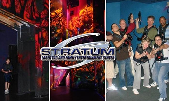 Stratum Lasertag - Mesa: $4 for One Game of Laser Tag at Stratum Lasertag ($8.63 Value)