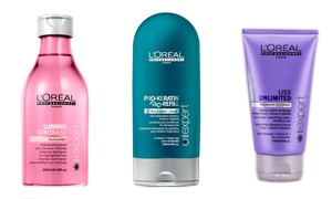 L'Oreal Professional Shampoo, Conditioner, Masque, or Oil