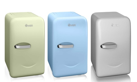 Swan Retro Mini Fridge for £69.98 With Free Delivery (30% Off)
