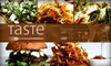 Taste - ALL Locations - Melrose and Palisades - Multiple Locations: $50 Worth of Upscale Comfort Food at Taste