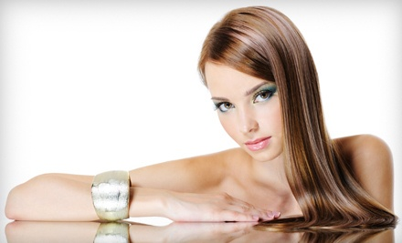 Haircut with Master-Level, Blow-Dry, Style, and Redken Deep-Conditioning Treatment (a $65 value) - Susan Randall Hair Studio in Nashville