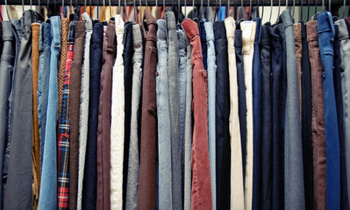Frenchy's Thrift Boutique - East End: Gently Used Clothing at Frenchy's Thrift Boutique (Half Off). Two Options Available.