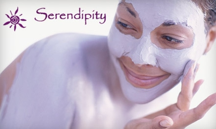Serendipity Day Spa & Wellness Center - Riverbank: $40 for Aromatherapy, Cellulite, or Chocolate Decadence Body Wrap at Serendipity Day Spa & Wellness Center