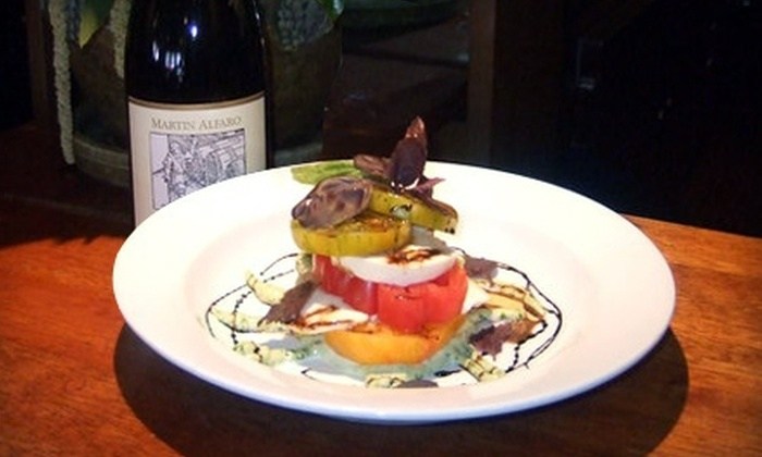 Boskos Trattoria - Calistoga: $25 for $50 Worth of Italian Cuisine at Boskos Trattoria