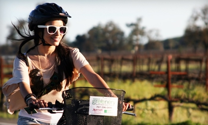 Change of Greenery - Linda Vista: $37 for an Electric Bike Rental from Change of Greenery in Napa ($75 Value)