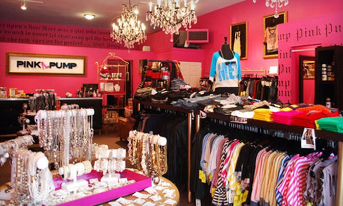 Pink Pump - Multiple Locations: $30 for $60 Worth of Shoes, Apparel, and Accessories at Pink Pump
