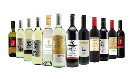 $65 for a 12-Bottle of Red, White or Mixed Wine Case from Margaret River (Don't Pay $249)