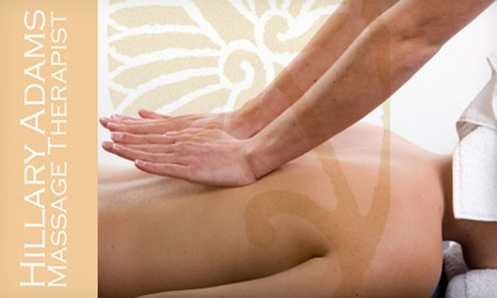 Hillary Adams Massage - Multiple Locations: $35 for a One-Hour Massage from Hillary Adams Massage