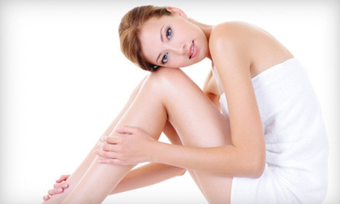 New Look Laser - Multiple Locations: Laser Hair Removal at New Look Laser (Up to 96% Off). Three Options Available.