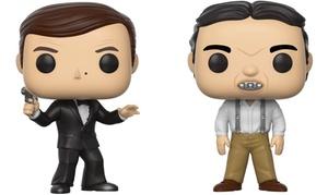 Figurines James Bond et Jaws