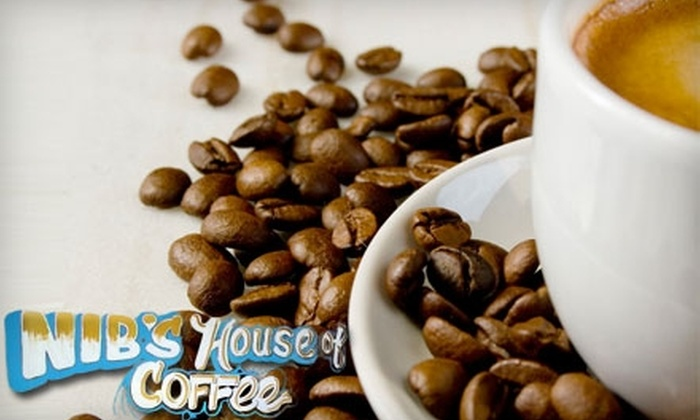 Nib's House of Coffee - North Topeka 2: $5 for $10 Worth of Café Fare and Beverages at Nib's House of Coffee