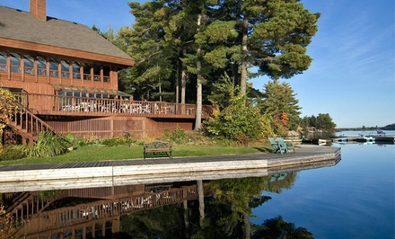 2-Night Stay for Two in a Garden-View Lodge Room, Valid for Check-In SundayWednesday   - Westwind Inn on the Lake in Buckhorn