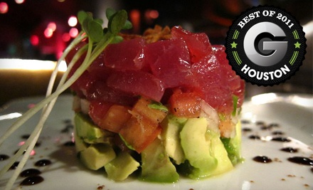 $40 Groupon to The Fish Restaurant and Sushi Bar - The Fish Restaurant and Sushi Bar in Houston