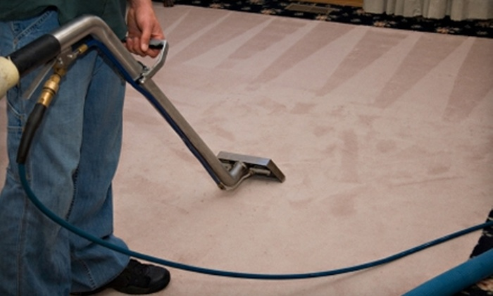 Surface With A Smile - Evansville: $60 for a Three-Room Carpet Cleaning from Surface With A Smile ($180 Value)
